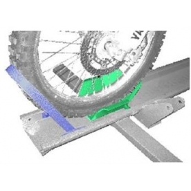 Hydralift Motorcycle Lifts/ Innovative RV Tech Motorcycle Wheel Chock HLWC39