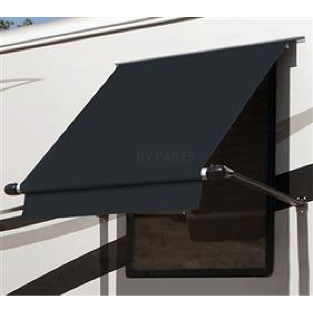 Simply Shade RV Window Awning 72 Carefree WG0604E4EB Black 6