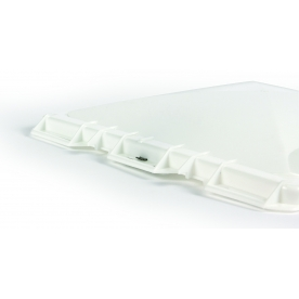 """Camco 14"""" x 14"""" Roof Vent Lid Vents Jensen for Metal Vent Manufactured 2004 and On White 40153"""