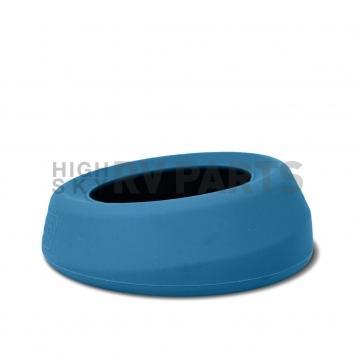 Kurgo Pet Dish Spill-Proof Single Blue - 01812-2
