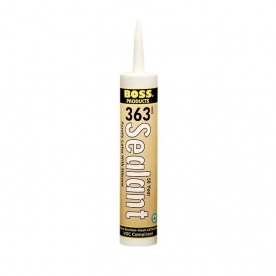 Accumetric Caulk Sealant  BOSS 363 10.1 oz. Paintable Gray