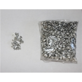 """Airstream Body Rivet Anodized Solid Clear 1/8"""" x 3/8"""" - Pack of 500 - 325002-01"""