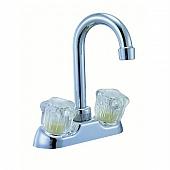 Averen Relaqua Faucet 2 Handle Chrome Plastic for Kitchen/ Bar AL-402-02RC