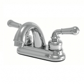 Averen Relaqua Faucet 2 Teapot Handle Chrome Plastic for Lavatory AL-B210C
