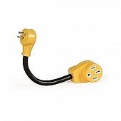 """Camco 12"""" Power Grip Dogbone, 15AM / 50AF, 125V / 1875W Bilingual CSA - 55168"""