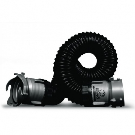 Camco RhinoEXTREME Sewer Hose 5' Length -  with Lug and Bayonet Fittings - 39865