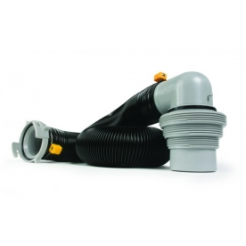 Camco Sewer Hose 10' Length -  with Easy Slip Sewer Elbow - 39551