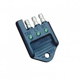 De-Bug Plug - Trailer Wiring Circuit Tester 4-Way Flat