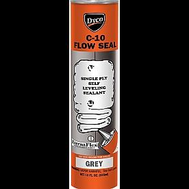 Dyco Paints Caulk Roof Sealant FLOW SEAL Gray 11 oz.