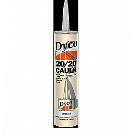 Dyco Paints Caulk Sealant 11 oz. Ivory