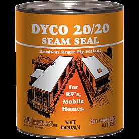 Dyco Paints Caulk Sealant SEAM SEAL Paintable White 1 Quart