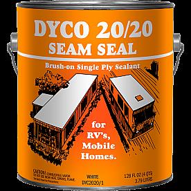 Dyco Paints Caulk Sealant White 1 Gallon Paintable