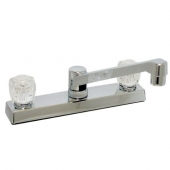 """Phoenix DuraPro RV Kitchen Chrome Faucet, 8"""", Two Handle"""