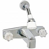 Phoenix Products Faucet 2 Handle Chrome Plastic for Lavatory PF214349