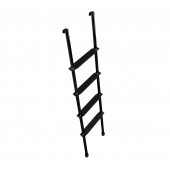 Stromberg Carlson Aluminum Ladder Interior Bunk, 5', Black