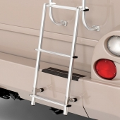 Universal Aluminum Ladder Use With Rear RV Ladder 3 Step Extension