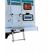 Universal Mini Assist Ladder for Elliptical/Flat Step RV Ladders