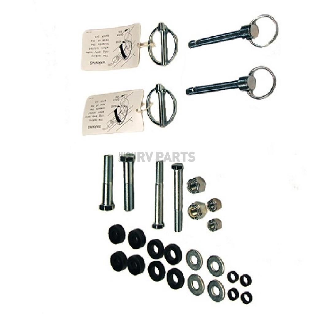 Blue Ox BX88310 Demco Tow Bar to Blue Ox Base Plate Triple Lug Kit