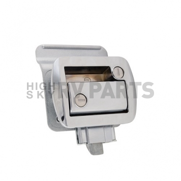 AP Products Entry Door Latch - Global Travel Trailer Lock - Chrome - 013-572-8