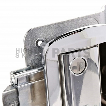 AP Products Entry Door Latch - Global Travel Trailer Lock - Chrome - 013-572-5