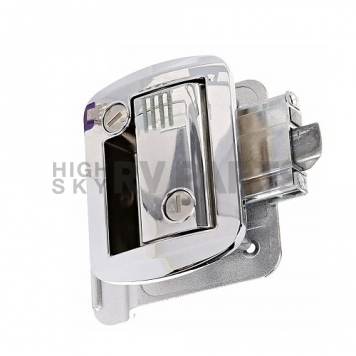 AP Products Entry Door Latch - Global Travel Trailer Lock - Chrome - 013-572-7