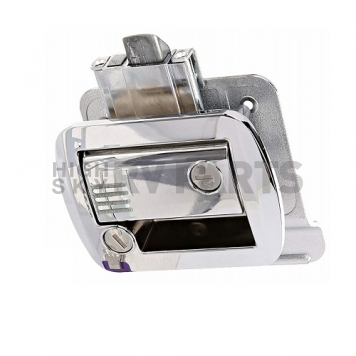 AP Products Entry Door Latch - Global Travel Trailer Lock - Chrome - 013-572-6