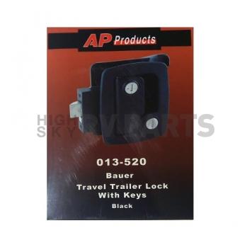 AP Products Bauer Travel Trailer Lock - Black - 013-520-4