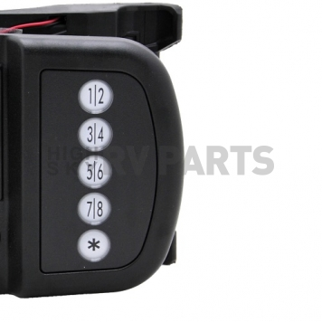 AP Products Power Lock Kit Paddle Type Right Hand Hinges - Black - 013-509-3
