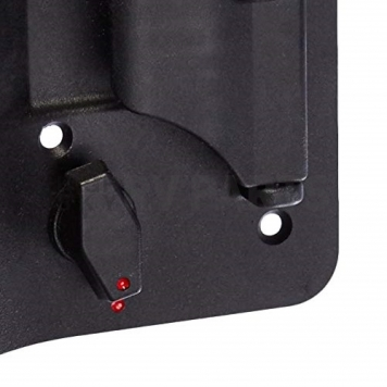 AP Products Power Lock Kit Paddle Type Right Hand Hinges - Black - 013-509-2
