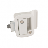 AP Products Entry Door Latch - Global Travel Trailer Lock - White - 013-571