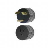 AP Products RV Power Cord Adapter 30 Amp Round - 16-00501