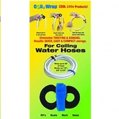 AP Products Water Hose Strap - Velcro Black Coil N Wrap