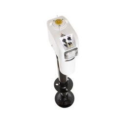 """Barker VIP 3500 Power Electric A Frame Tongue Jack 18"""" - White 30828"""