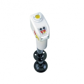 Barker VIP 3500 Power Electric A Frame Tongue Jack - White 31558