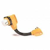 "Camco 50 Amp Power Grip 18"" Dogbone - 90M / 90F-Locking Adapter - 55562"