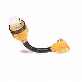 "Camco 50 Amp Power Grip 18"" Dogbone Locking - 55552"