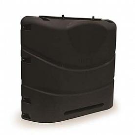 Camco Heavy-Duty 20lb or 30lb Dual Propane Tank Cover (Black)