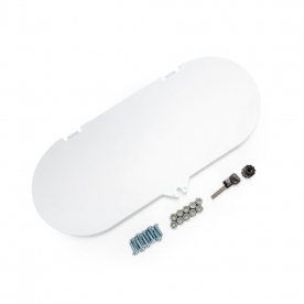 Camco - Lp Tank Cover Replacement Lid, Polar White