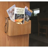 Camco Oak Organizer Remote Control Holder Hardwood Oak Accents