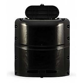 Camco Propane Tank Cover, For 20 Pound Tank, Black Polypropylene