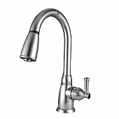 Dura Faucet Silver Plastic for Kitchen DF-PK160-SN