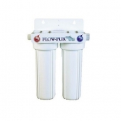 FlowPur/Watts Exterior Dual Water Filter System For RVs & Boats