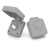 Furrion Outdoor Square Receptacle Cable TV Inlet - 384126