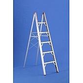 Multi-Purpose Folding Ladder 6' Height, 5 Steps 225 LB