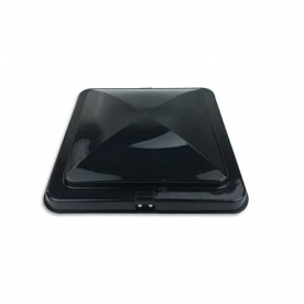 Heng's Industries Roof Vent Lid for Elixir Universal And Ventline Vents - Smoke 90112-CR