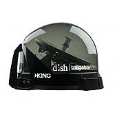 King VQ4900 DISH Tailgater Satellite TV Antenna Smoke - DTP4900