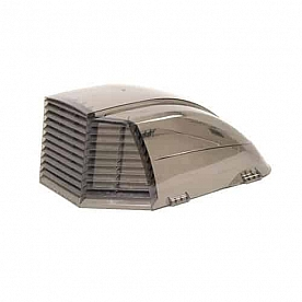 Maxxair II Roof Vent Cover Vented On Three Sides - Smoke 00-933073