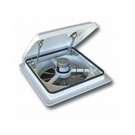MaxxAir MaxxFan Roof Vent Manual Opening 4 Speed - White 00A04301K