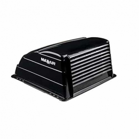 MaxxAir Roof Vent Cover Vented On One Side - Black 00-933069