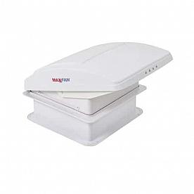 MaxxFan Deluxe Roof Vent Manual Opening 3 Speed Fan - White 00-05301K